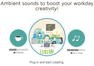 Coffitivity, Hintergrundgeräusche eines Coffee Shops als App