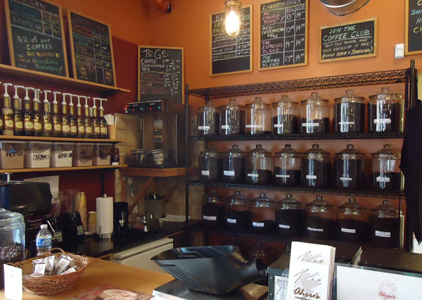 Coffee Shop als Büro