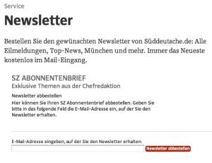 sueddeutsche-newsletter-abbestellen