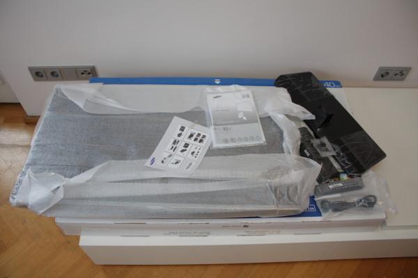 samsung-ue40h5070-flachbildfernseher-ausgepackt