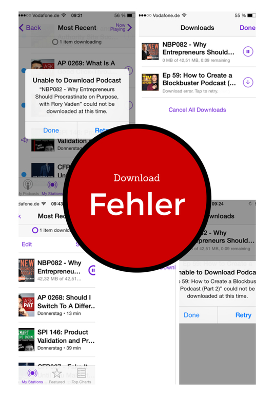 how to download podcasts on iphone