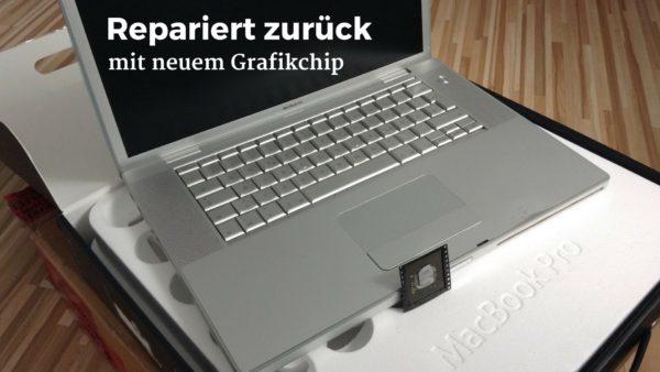Erfolgreich repariertes MacbookPro 2008, Vintage-Geräte